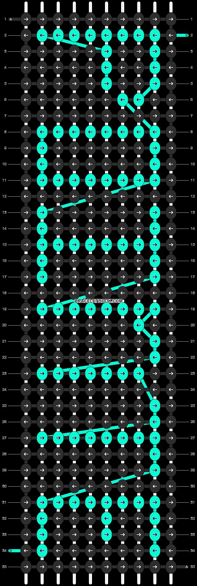 Alpha pattern #2848 pattern