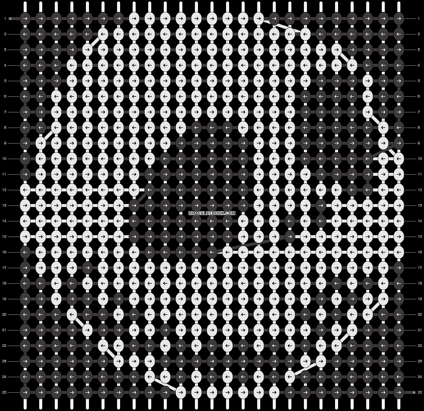 Alpha pattern #2851 pattern