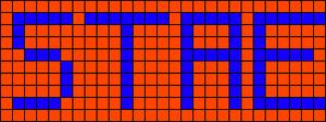 Alpha pattern #2860