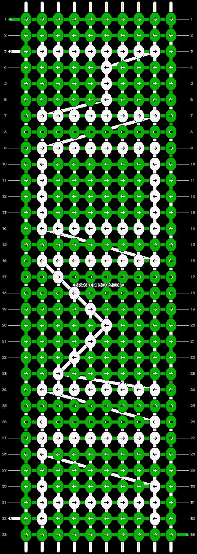 Alpha pattern #2861 pattern