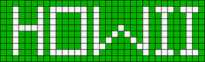 Alpha pattern #2861