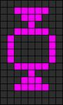 Alpha pattern #2864