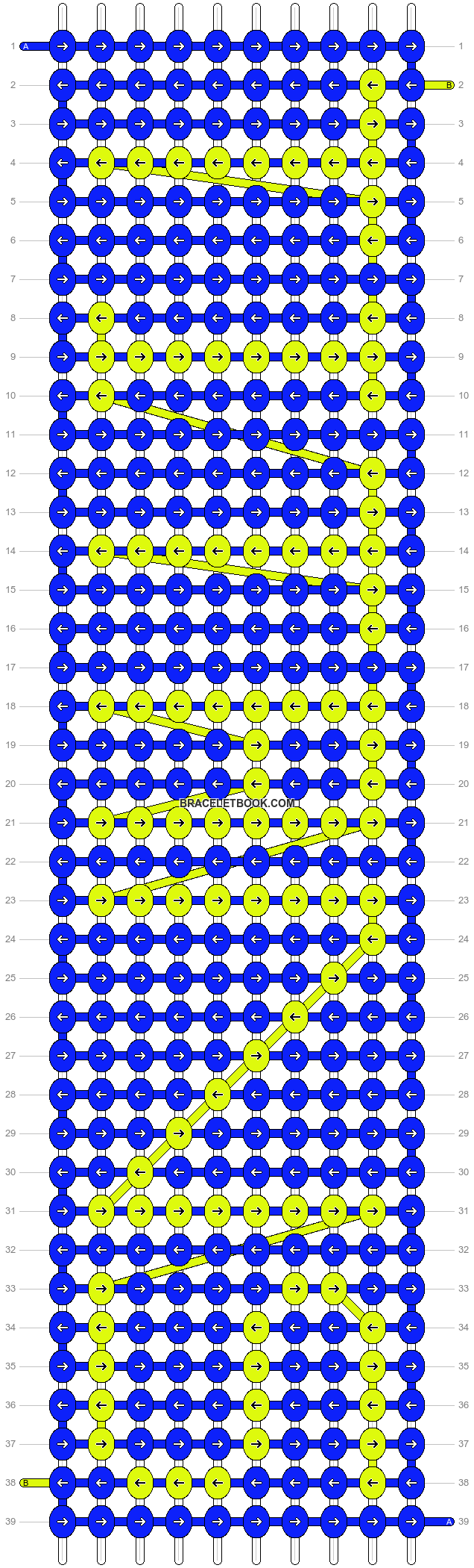 Alpha pattern #2865 pattern