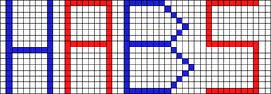 Alpha pattern #2868
