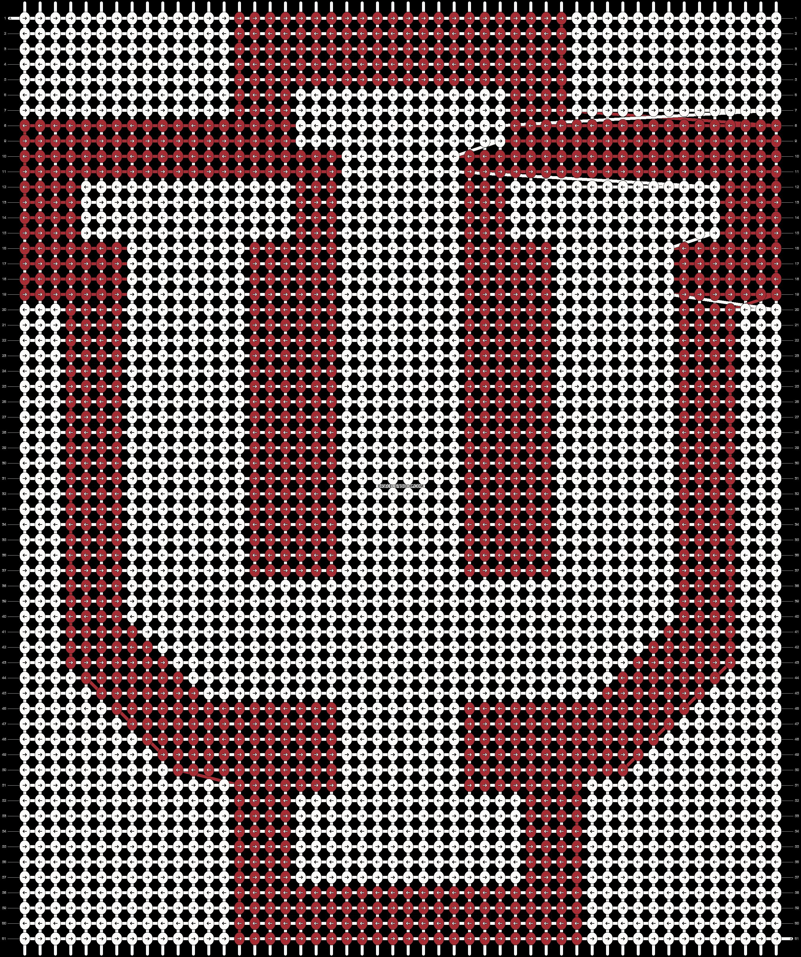 Alpha pattern #2870 pattern