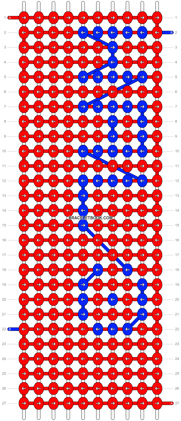 Alpha pattern #2871 pattern