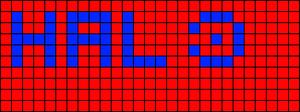 Alpha pattern #2871