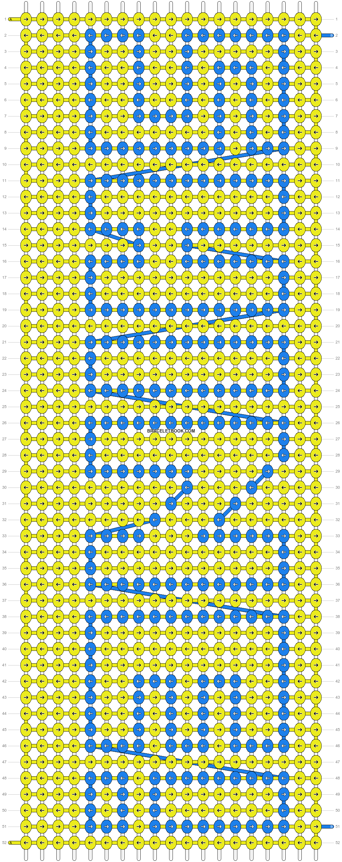 Alpha pattern #2876 pattern