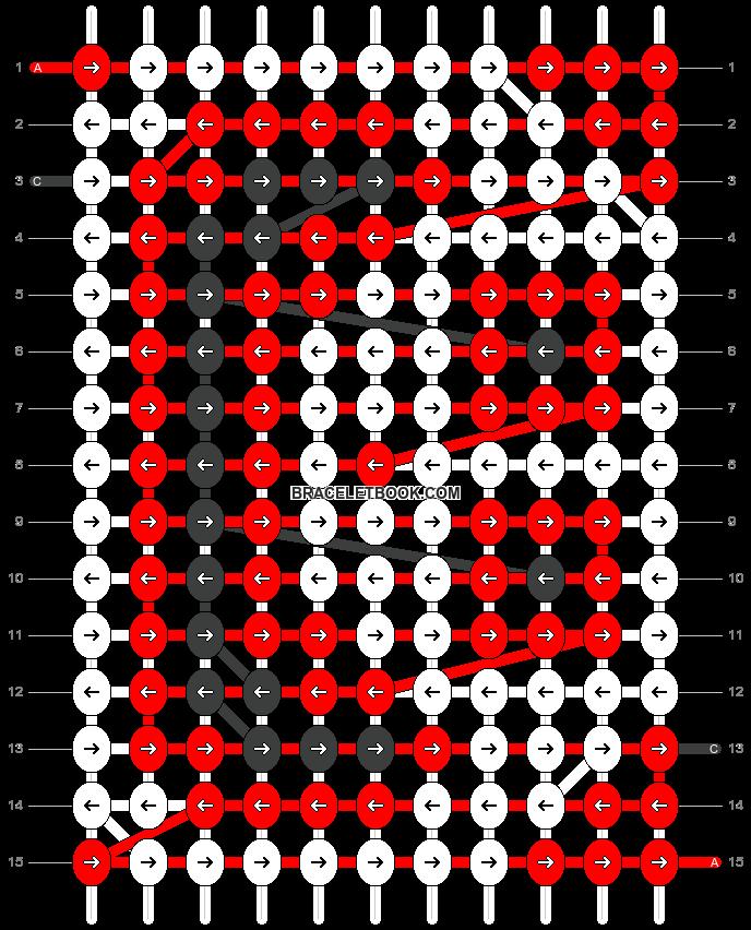 Alpha pattern #2877 pattern