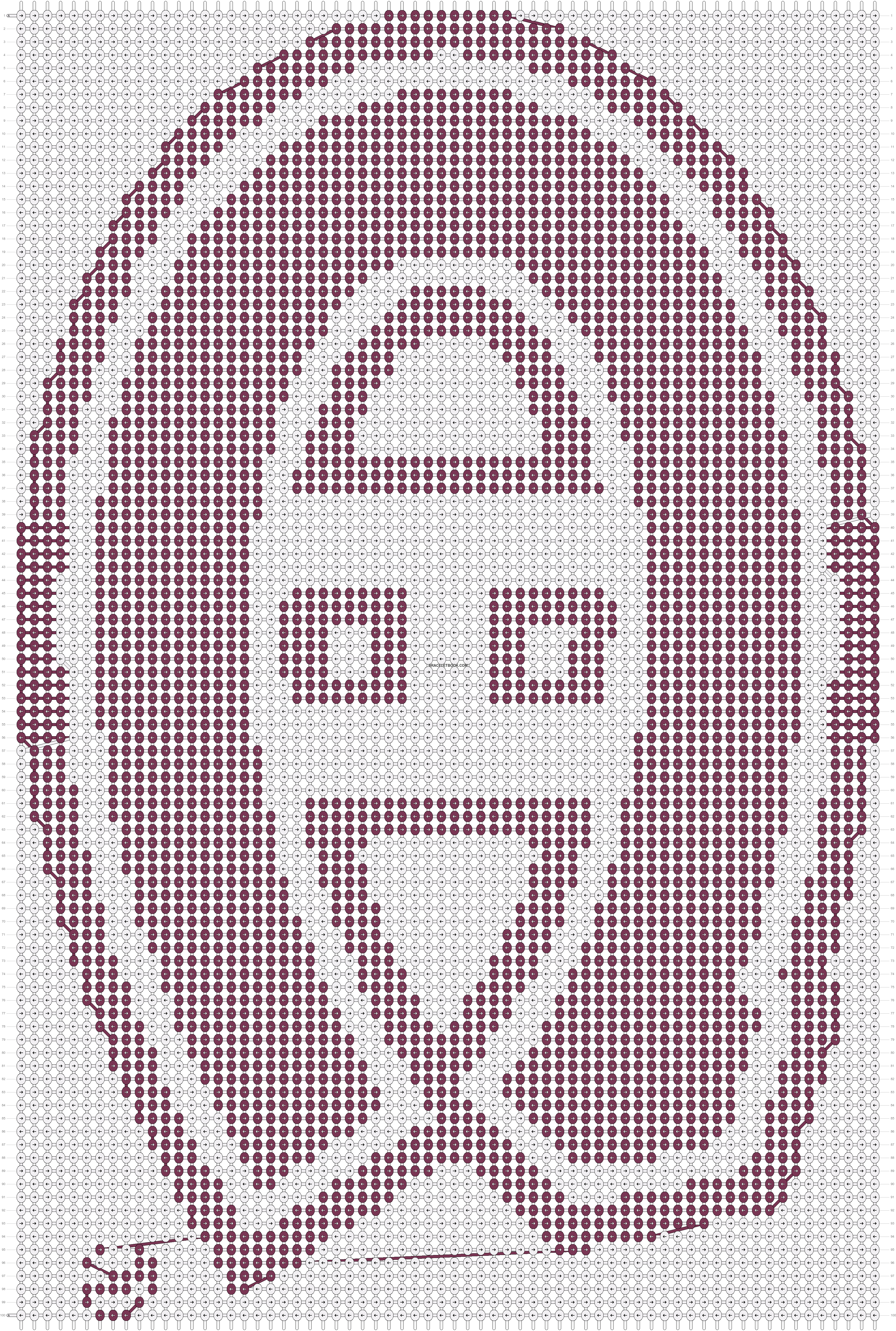 Alpha pattern #2879 pattern
