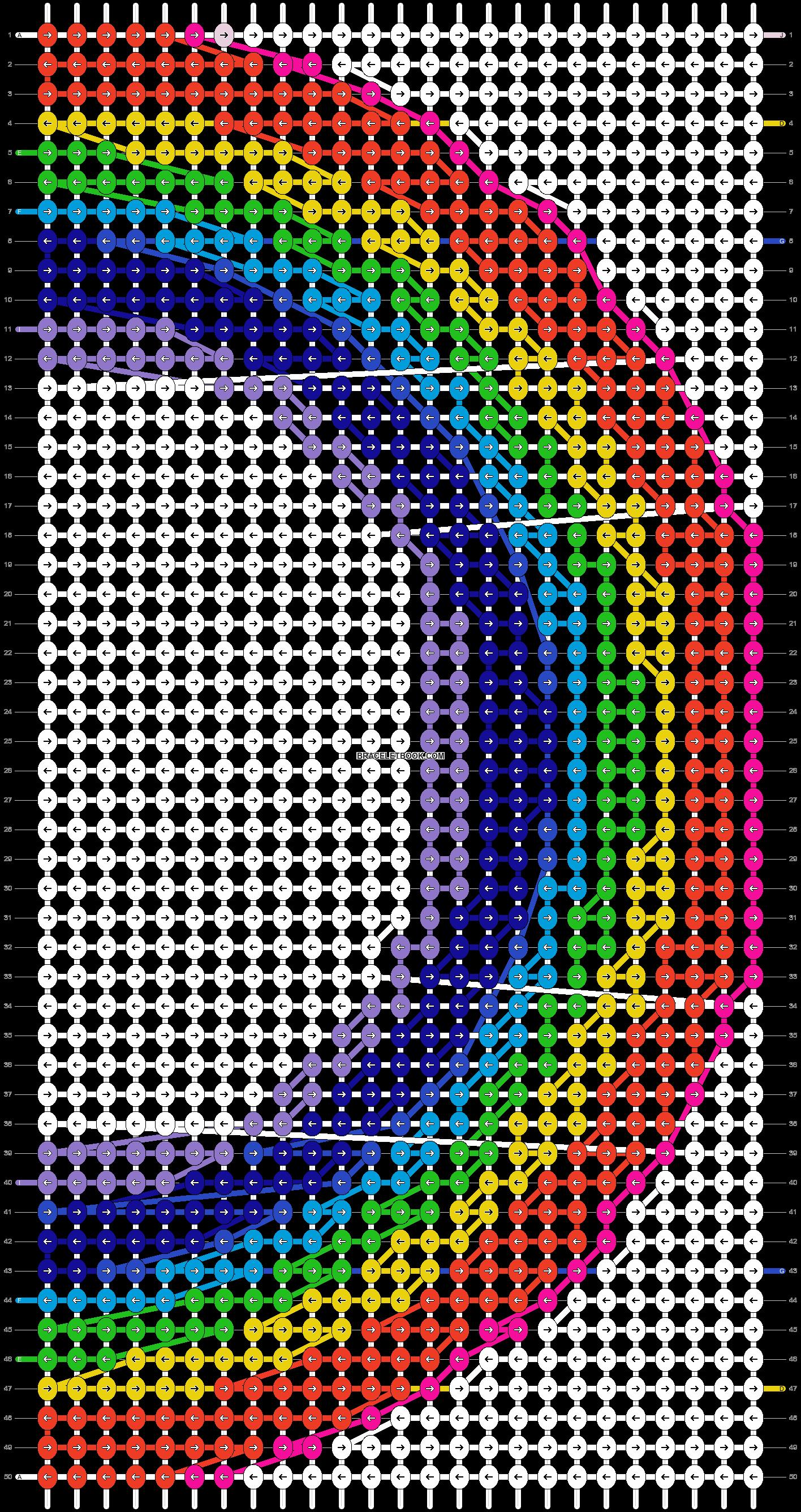 Alpha pattern #2880 pattern