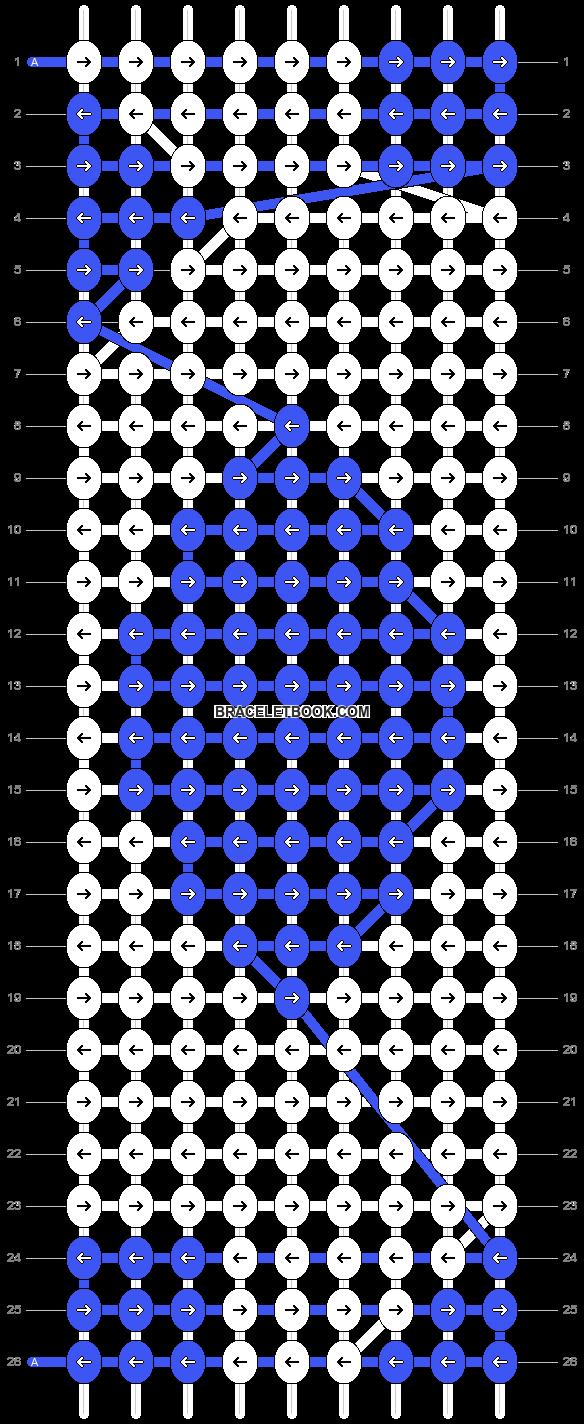 Alpha pattern #2881 pattern