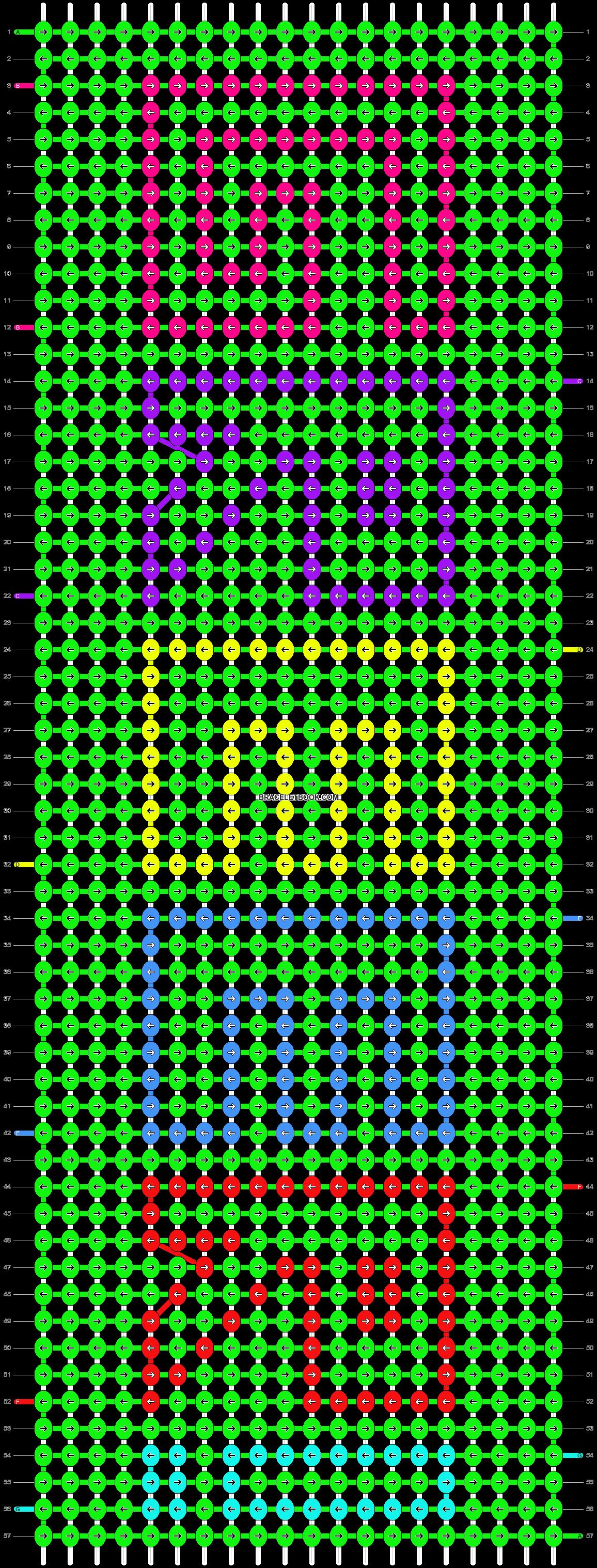 Alpha pattern #2883 pattern