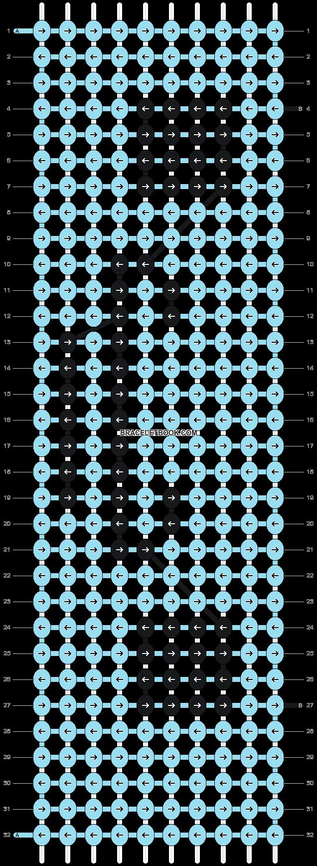 Alpha pattern #2891 pattern