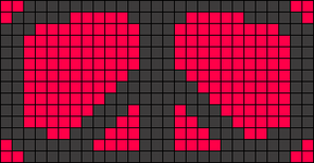 Alpha pattern #2900
