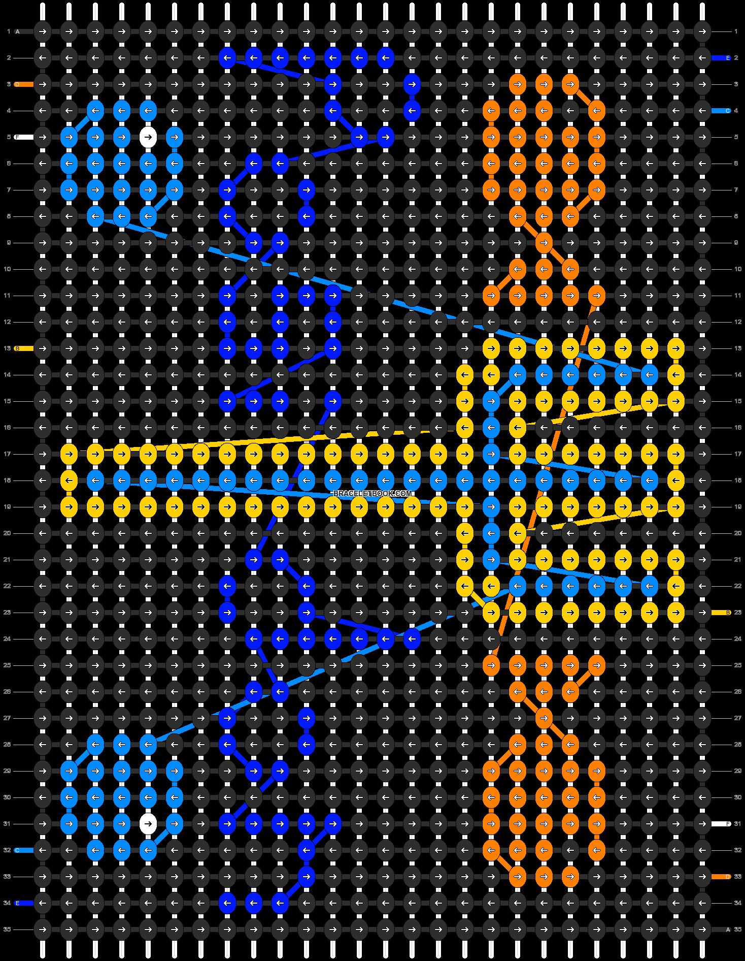 Alpha pattern #2904 pattern