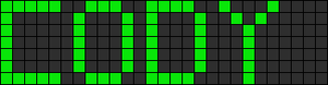 Alpha pattern #2907