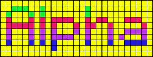 Alpha pattern #2918