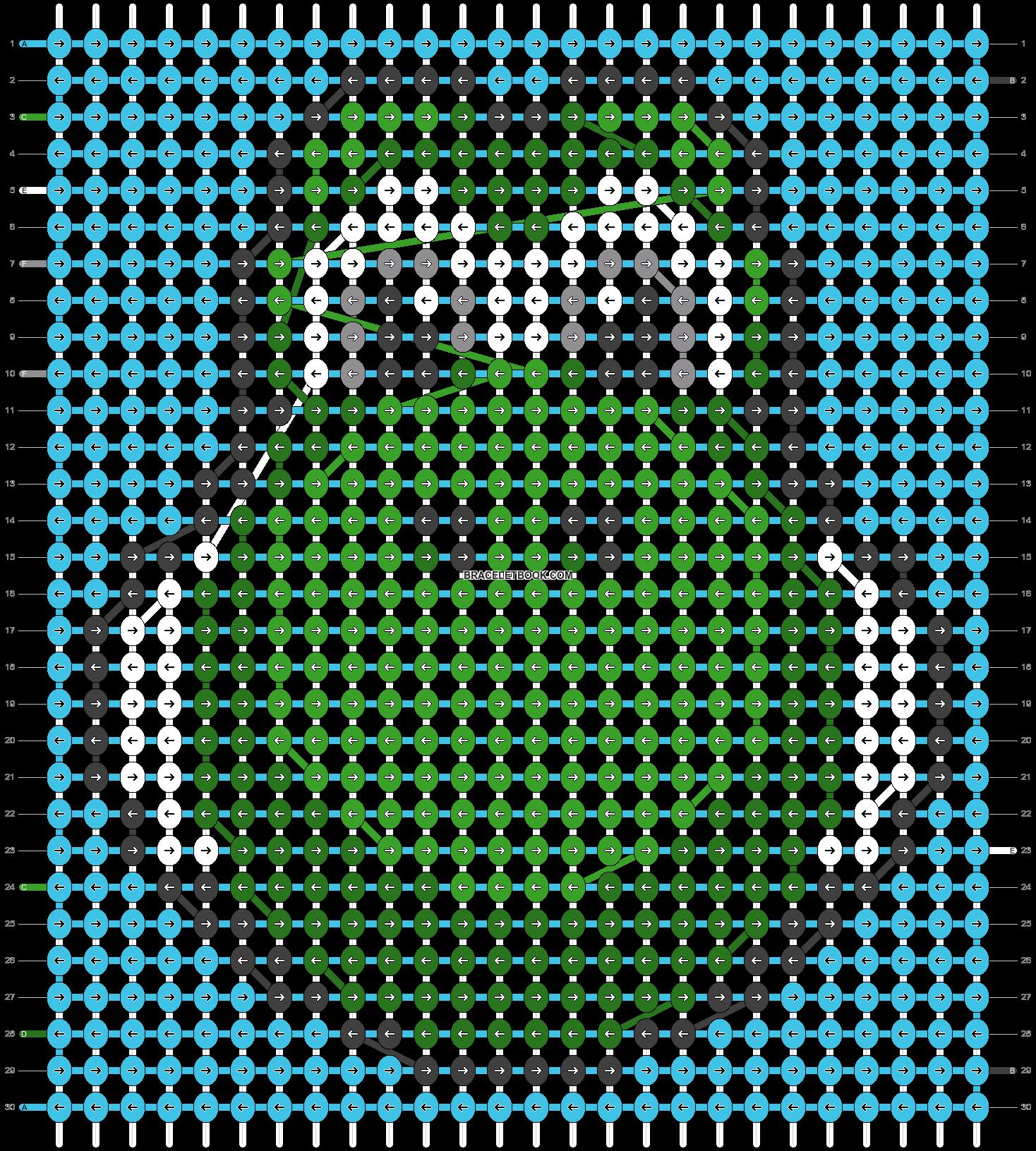 Alpha pattern #2926 pattern