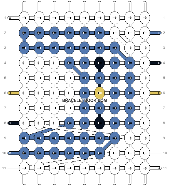 Alpha pattern #2928 pattern
