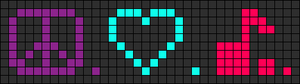 Alpha pattern #2931