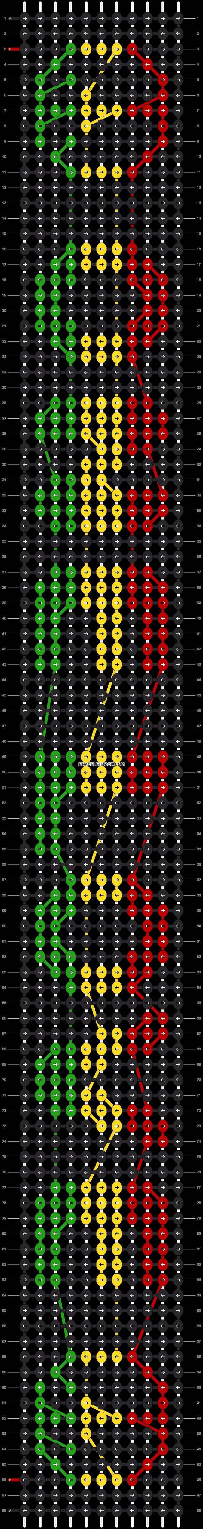 Alpha pattern #2937 pattern