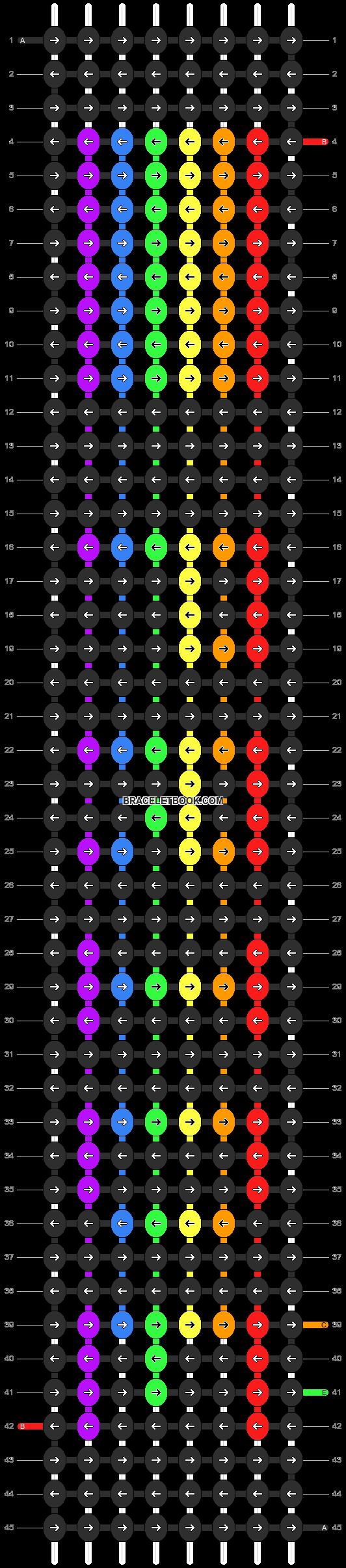 Alpha pattern #2946 pattern