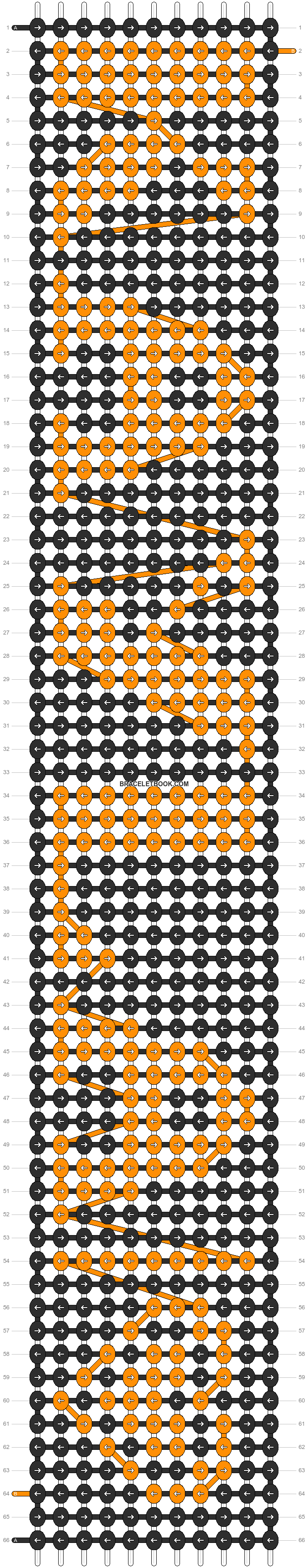 Alpha pattern #2951 pattern