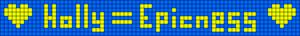 Alpha pattern #2955