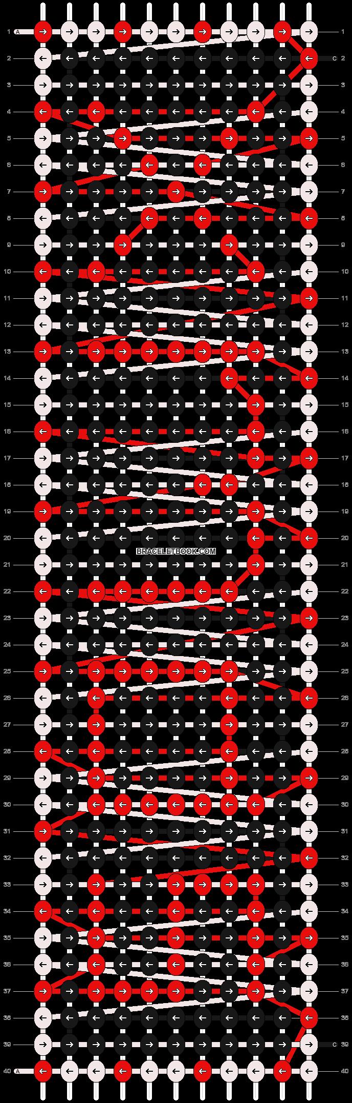 Alpha pattern #2957 pattern