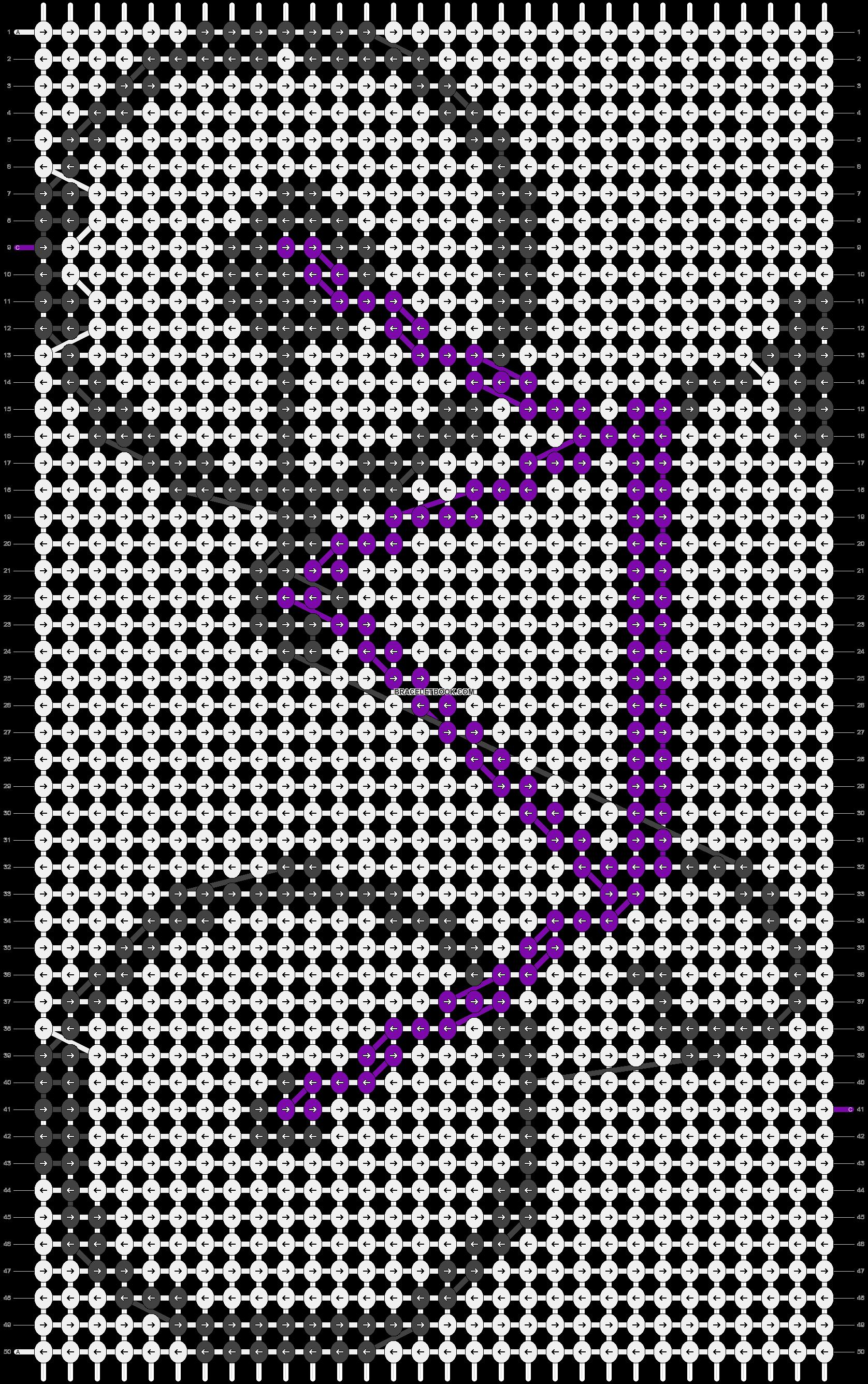 Alpha pattern #2963 pattern