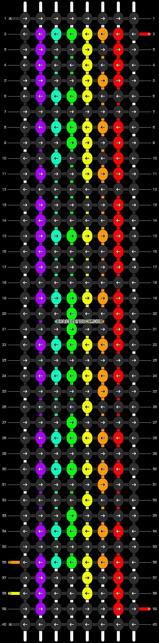 Alpha pattern #2966 pattern