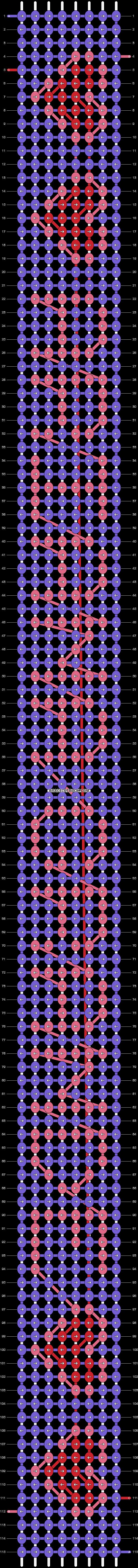 Alpha pattern #2971 pattern