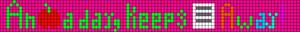 Alpha pattern #2981