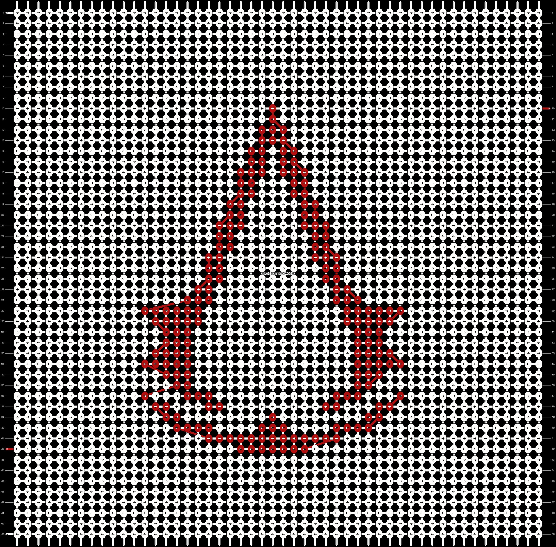 Alpha pattern #2983 pattern