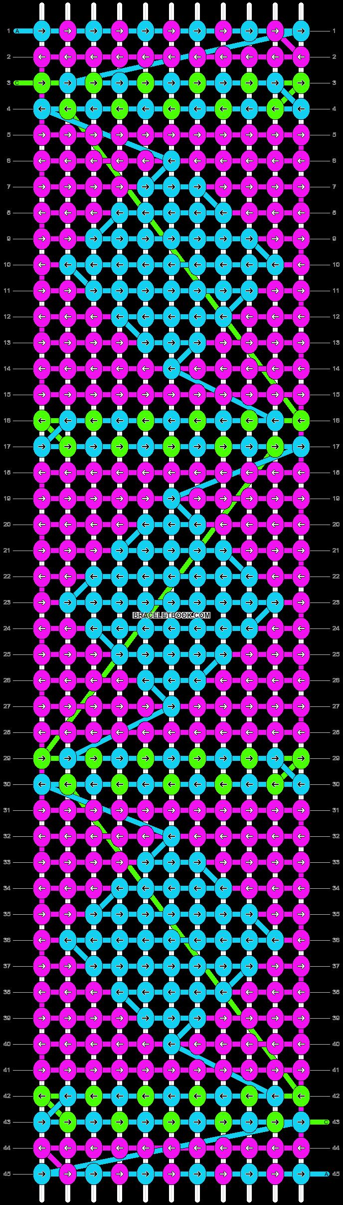 Alpha pattern #2985 pattern