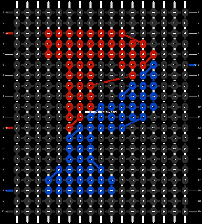 Alpha pattern #2989 pattern