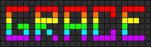 Alpha pattern #2999