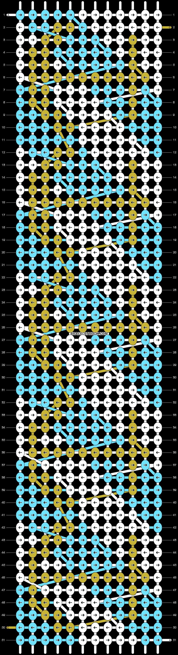 Alpha pattern #3003 pattern