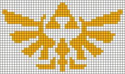 Alpha Friendship Bracelet Pattern #3004