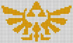 Alpha pattern #3004