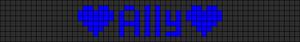 Alpha pattern #3005