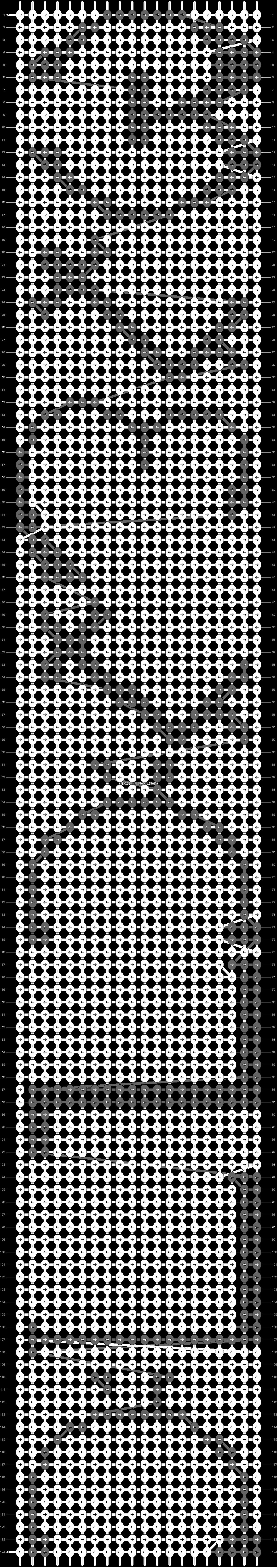 Alpha pattern #3028 pattern