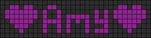 Alpha pattern #3039