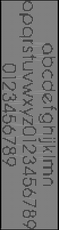 Alpha pattern #3066 pattern