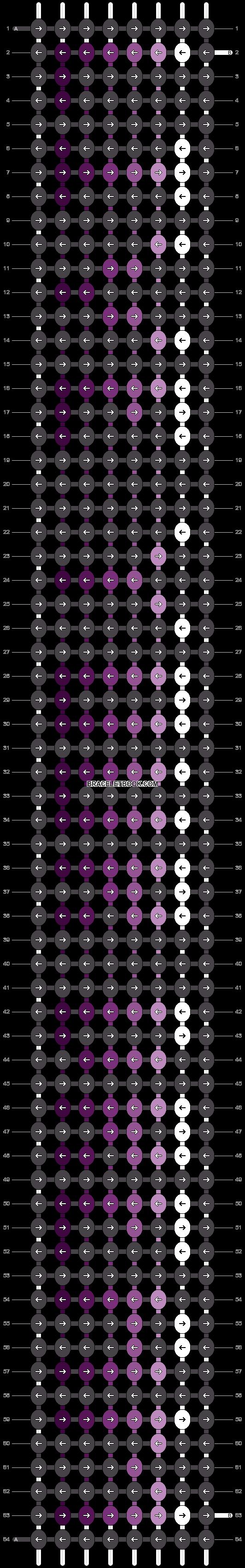Alpha pattern #3077 pattern