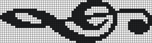 Alpha Friendship Bracelet Pattern #3087