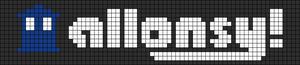 Alpha Friendship Bracelet Pattern #3088
