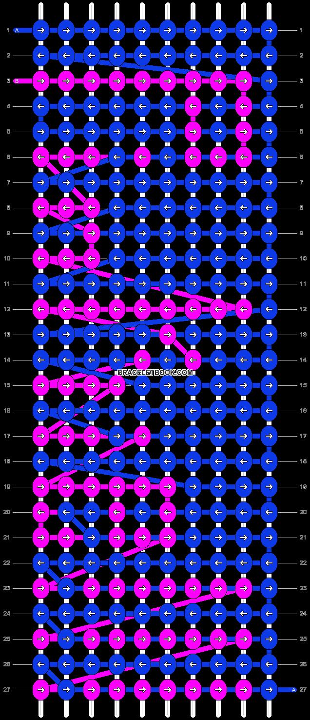 Alpha pattern #3096 pattern