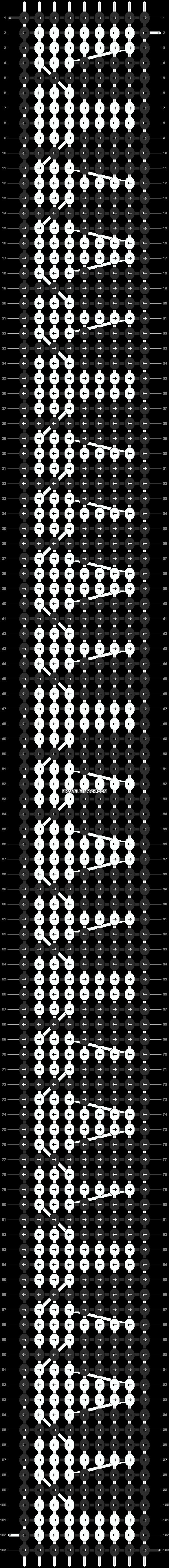 Alpha pattern #3098 pattern
